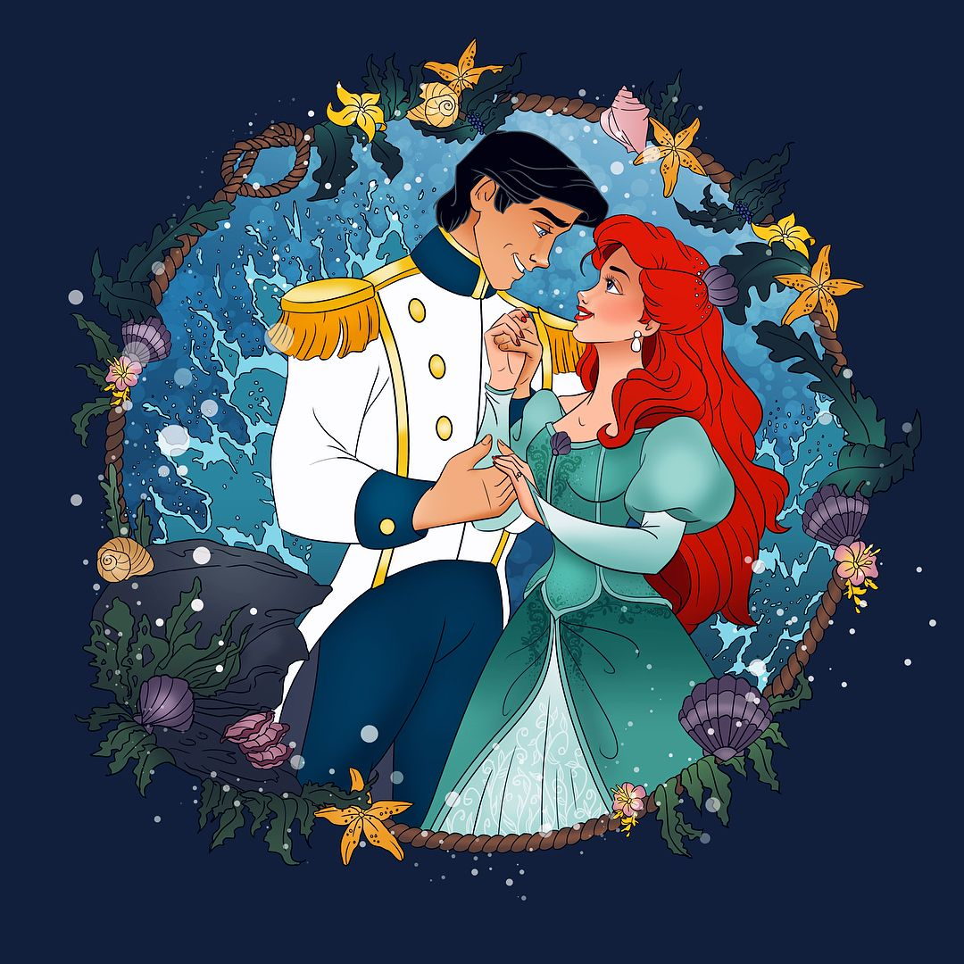 Magical Moments Ariel Amp Eric Thelittlemermaid Mermaid