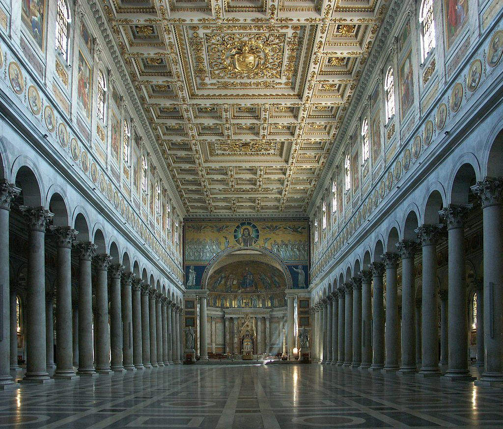 Basilica Of Saint Paul Outside The Walls Basilica Byzantine Architecture Vatican Museums
