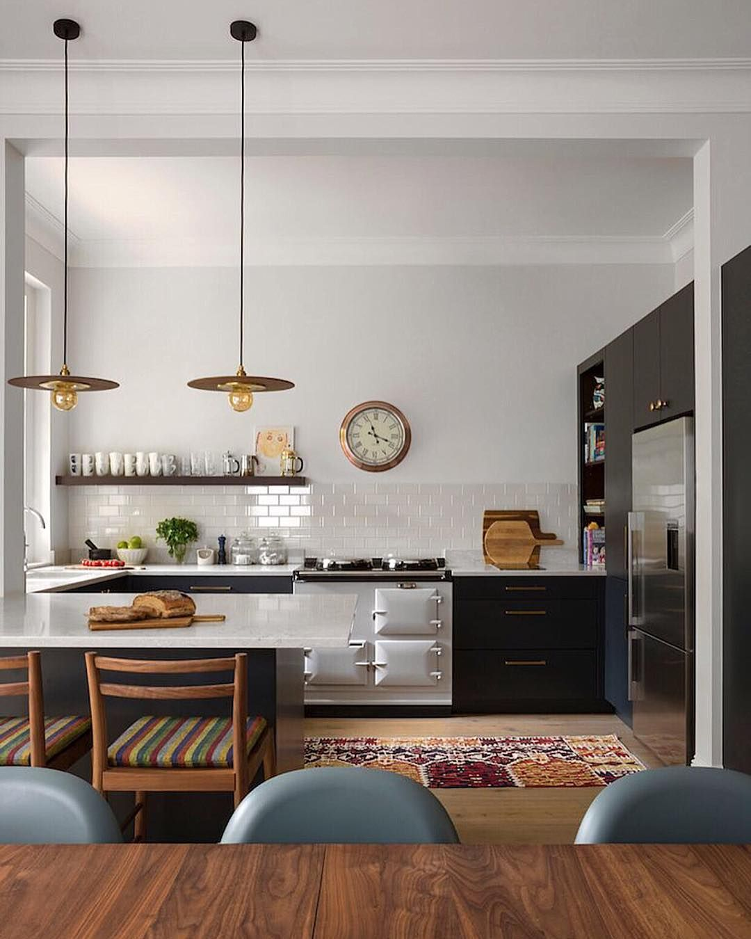 Kitchen of central london project I worked on last year