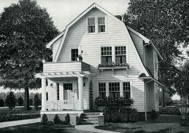 Standard Home Plans for 1926 The Harvard
