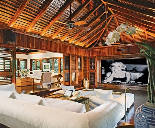Part  the best celebrity homes unning enchanted home ralph laurens jamaica estate also rh pinterest