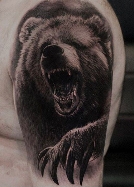 Pin by Little_Zombie on Inked | Animal tattoos, Grizzly ...