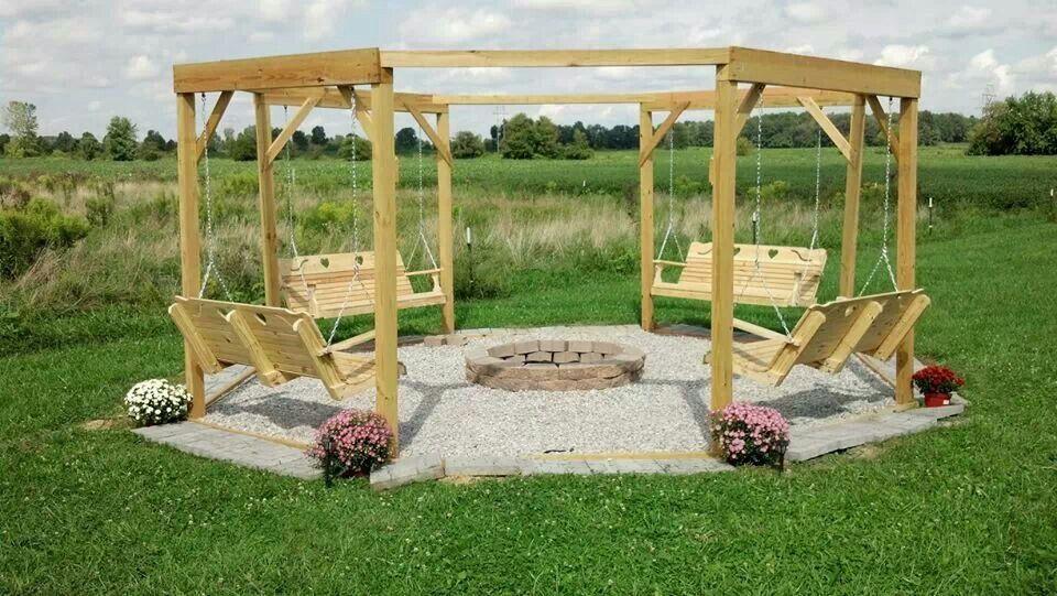 Porch Swings Fire Pit Circle Porch Swings Patio Swings