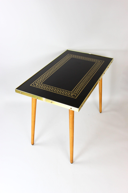 Vintage Side Table Veb Beistelltisch Tisch Wohnzimmertisch