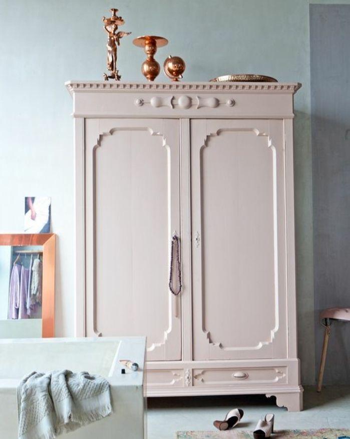 1001 id es pour relooker une armoire ancienne pinterest armoires. Black Bedroom Furniture Sets. Home Design Ideas