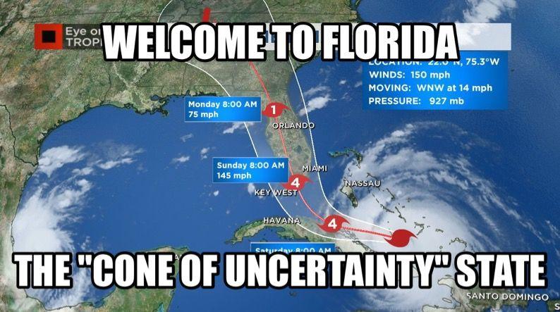 Hurricane Irma Meme With Images Hurricane Memes Florida Funny