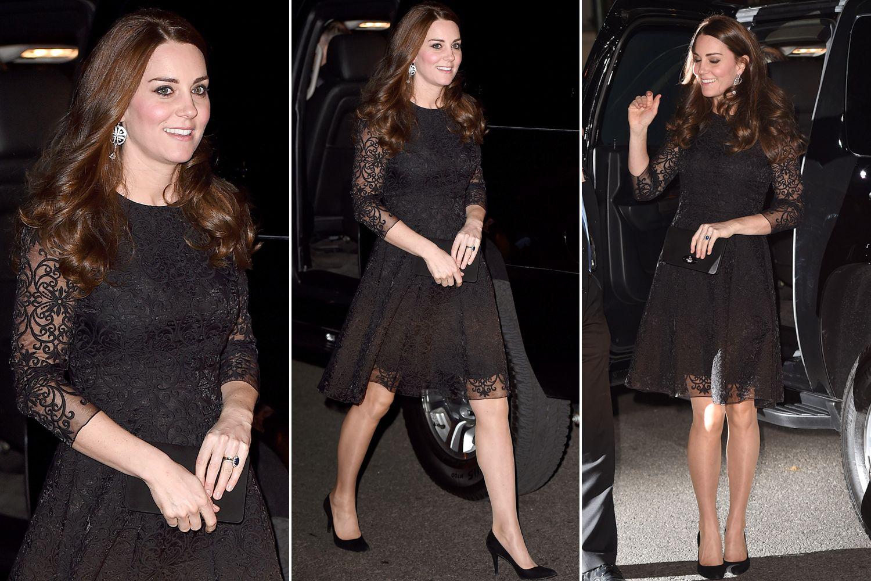 Kate Middleton Blue Lace Dressannech.co.uk | annech.co.uk