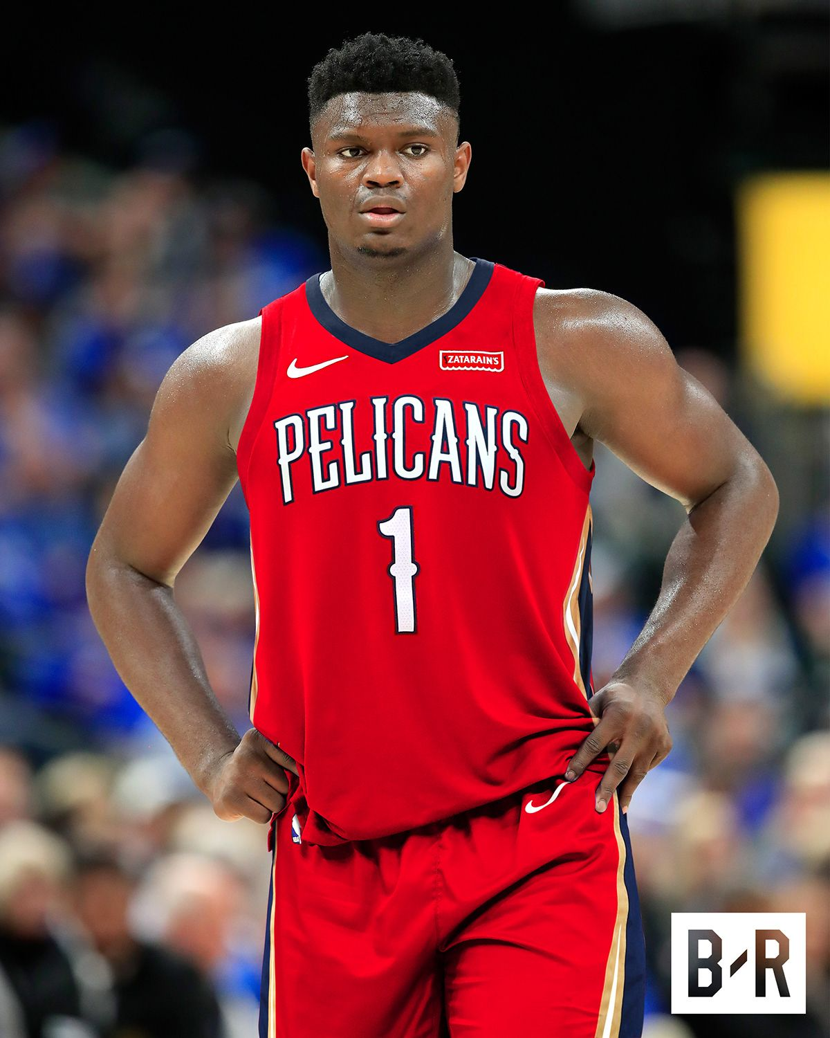 Zion Williamson Jersey Swaps for Bleacher Report on