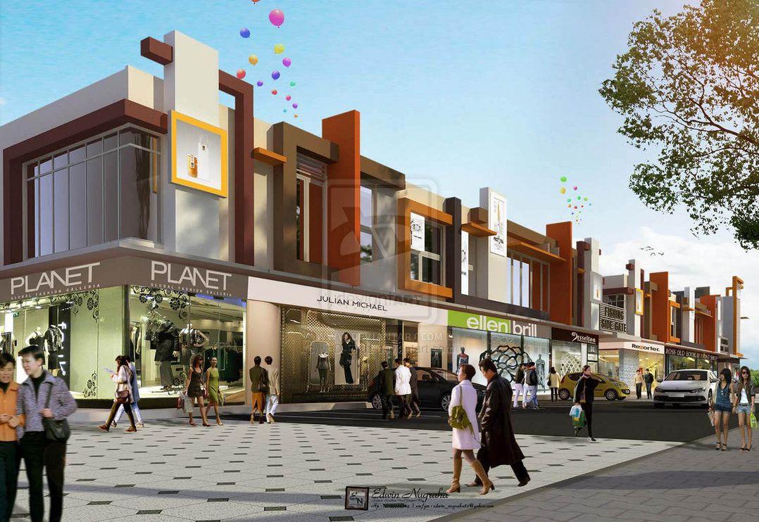shop house modern design - Google Search | 2-Commercial ...