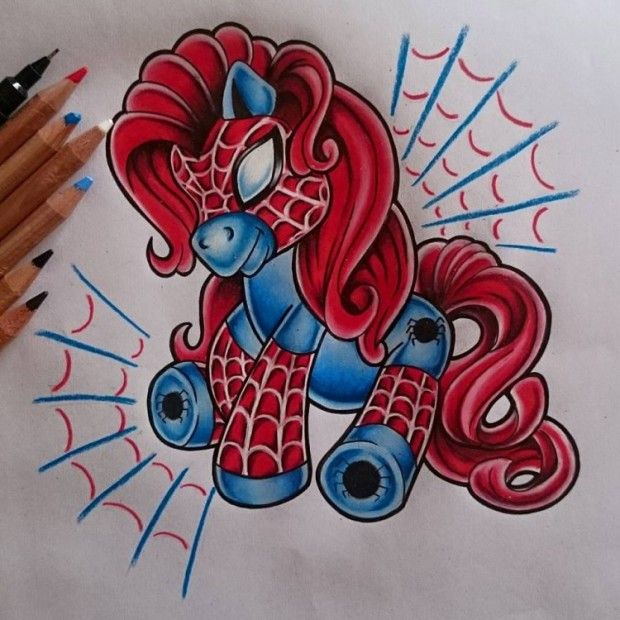 Comic book my little pony tattoos ink pinterest for My little pony tattoo