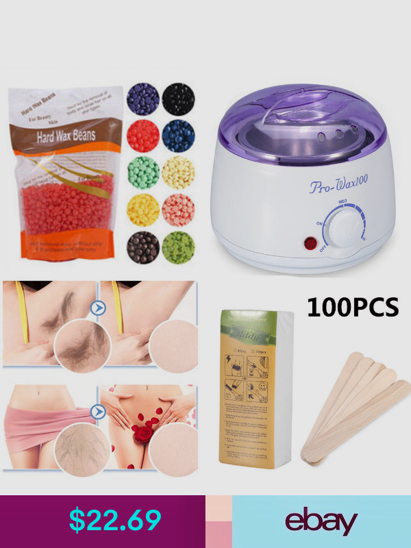 100g Hard Wax Beans for Painless Body Hair Removal Waxing