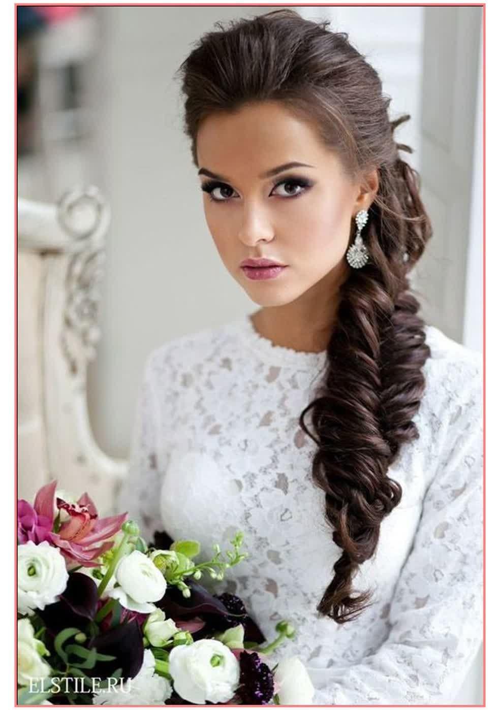Znalezione obrazy dla zapytania fryzura ślubna na bok | Fryzury ...