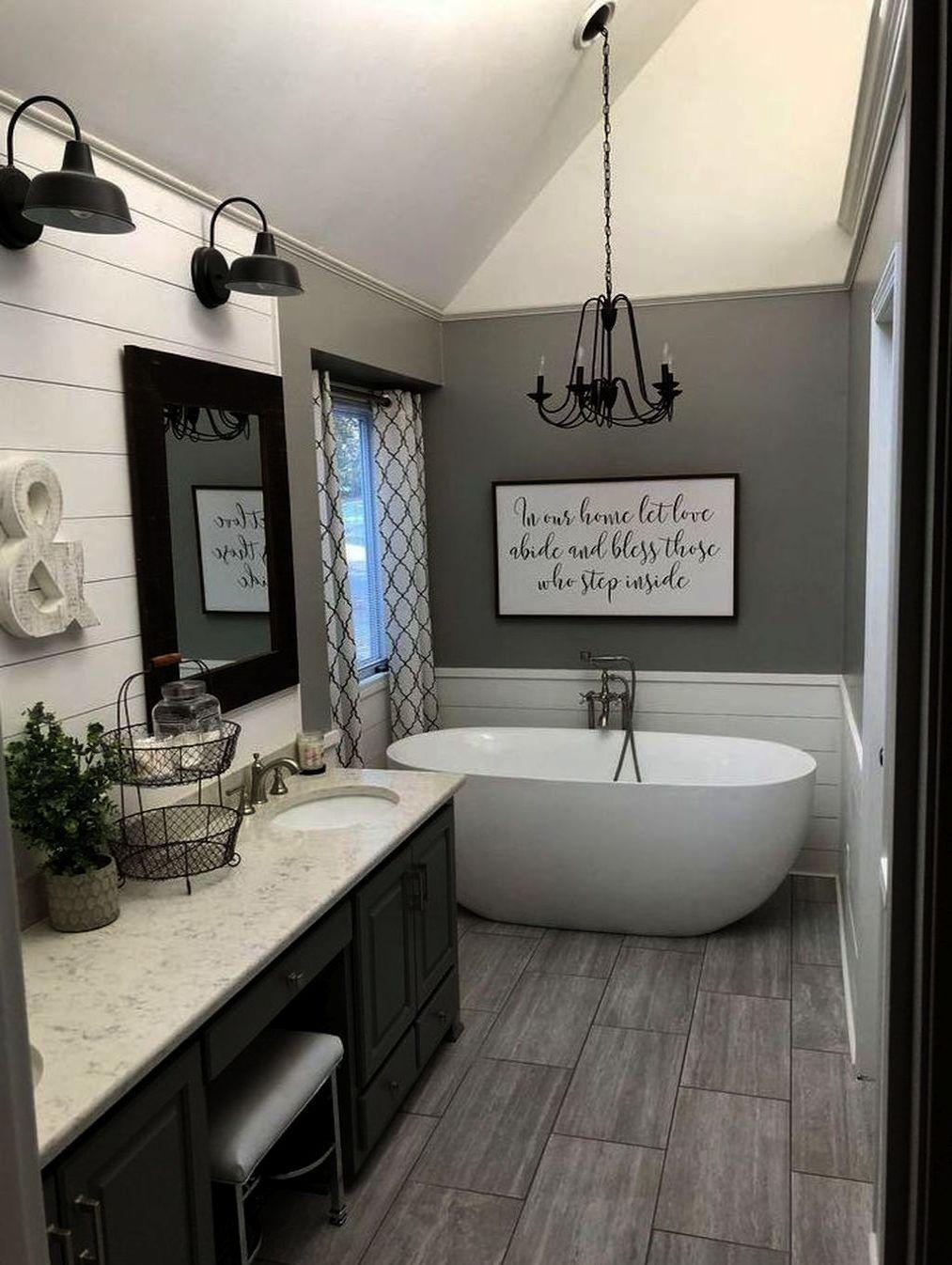 Country Bathroom Wall Decor Ideas