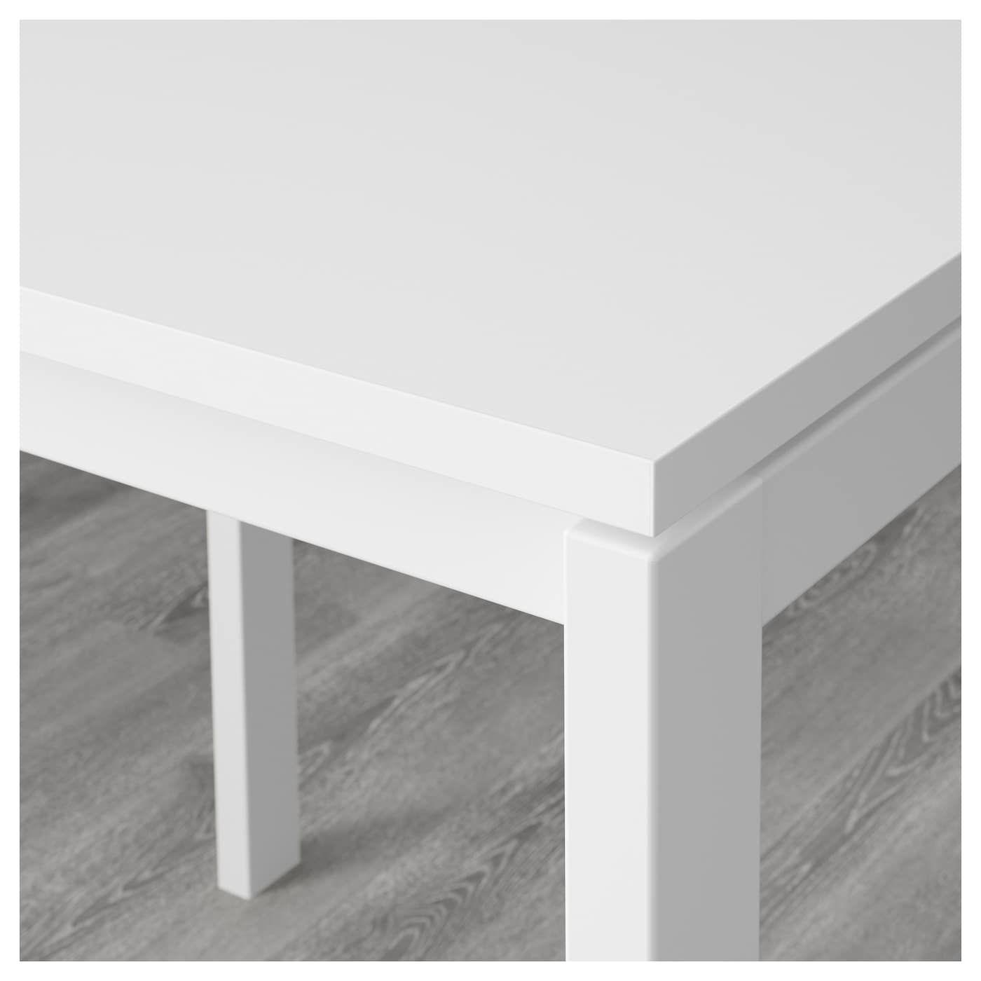 Ikea Sedie Pieghevoli Nisse.Melltorp Nisse Tavolo E 2 Sedie Pieghevoli Bianco Bianco