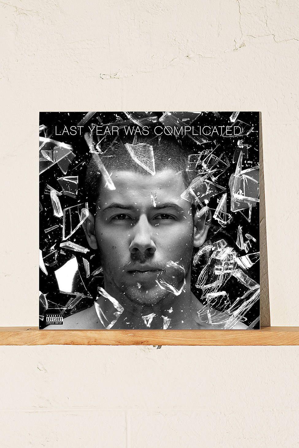 Nick Jonas Last Year Was Complicated Lp Nick Jonas Album Nick Jonas Ty Dolla Ign