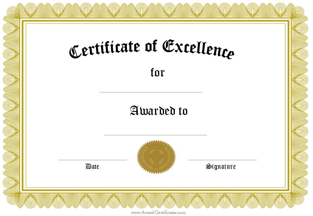 Certificate of 1 040 720 pixels church for Certificate of excellence template