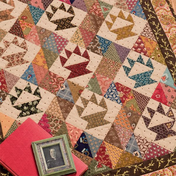 Have you discovered Civil War reproduction fabrics? Designer Carol ... : civil war fabric reproductions for quilting - Adamdwight.com