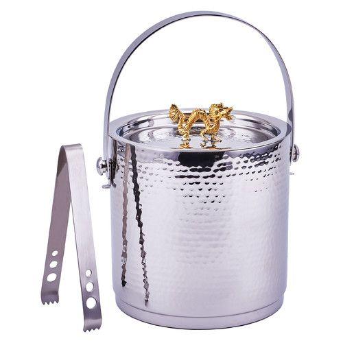 Found it at Wayfair - Dragon Handle Ice Bucket