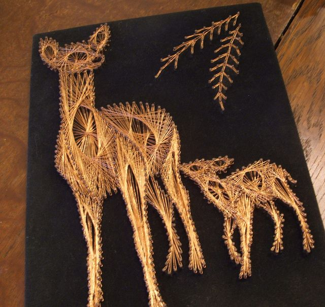 Buck Doe Heart String Art Pattern   Recent Photos The Commons Getty Collection Galleries World Map App ...
