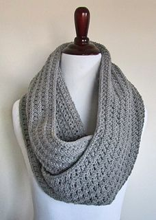 Eyelet Infinity Scarf Pattern By Chez Pascale Free Knitting