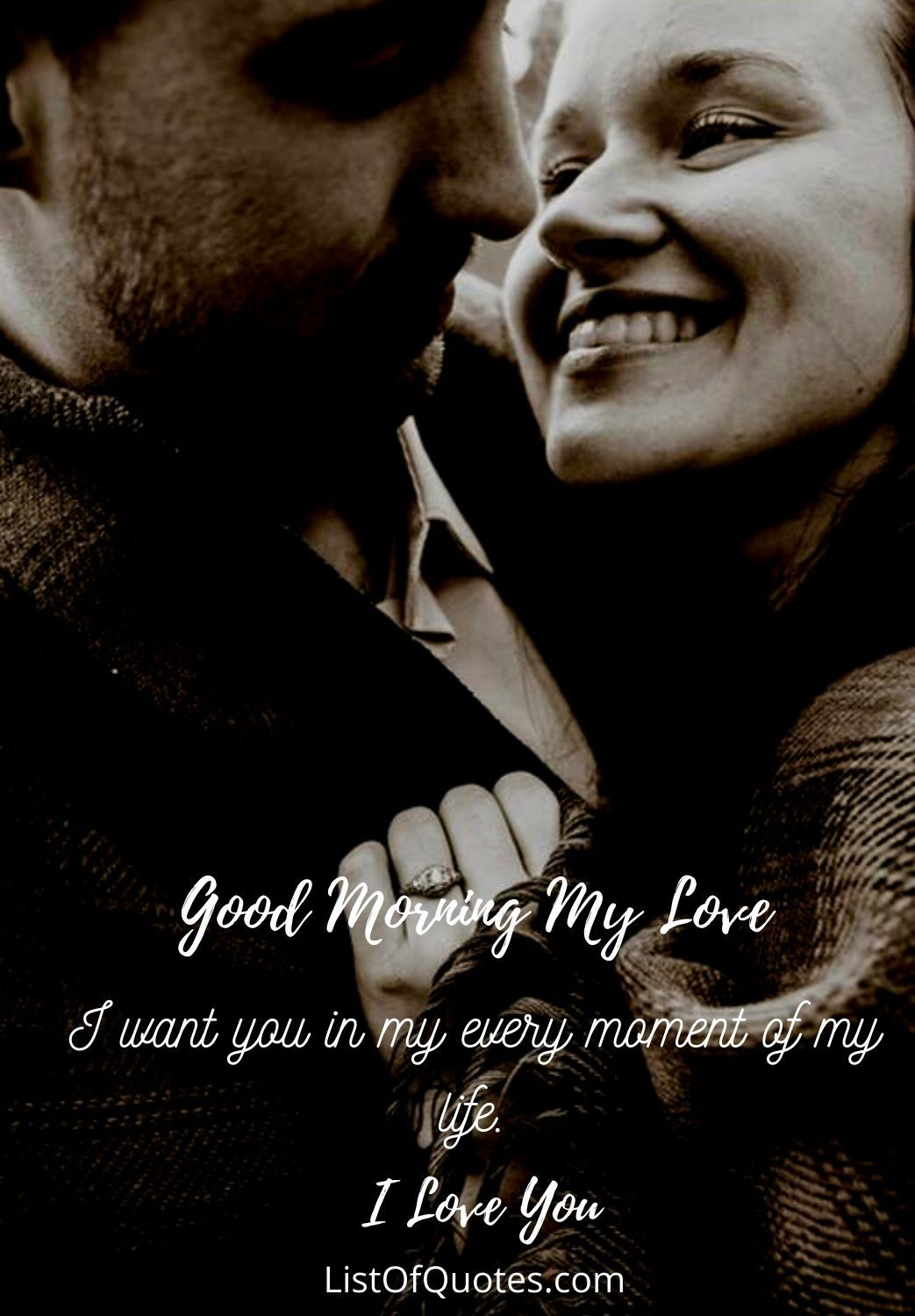 sweet love good morning quotes image for him boyfriend husband
