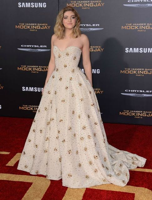 Willow Shields at \'The Hunger Games Mockingjay 2\' Premiere Get The ...