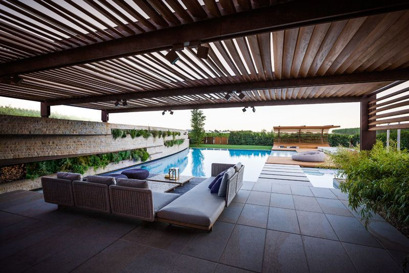 poolside patio - The weekend trip for relaxation and rejuvenation is evolving from being strictly limited to spas, to including a multitude of other destinations, w...