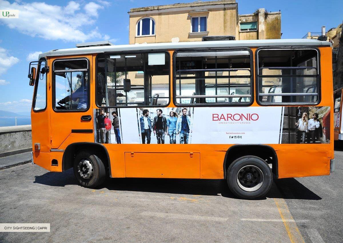 Baronio Bus Capri Pubblicita In Viaggio Pubblicita Viaggio