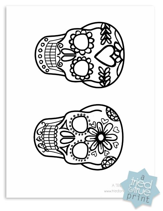 Day of the Dead Shrink Plastic Jewelry * e s p a ñ o l * Shrink