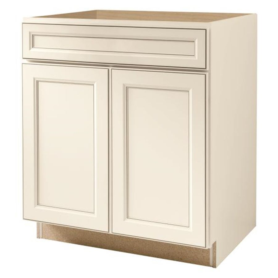Kitchen Classics Caspian 30In W X 35In H X 2375In D Toasted Glamorous Kitchen Cabinet Sink Base 2018