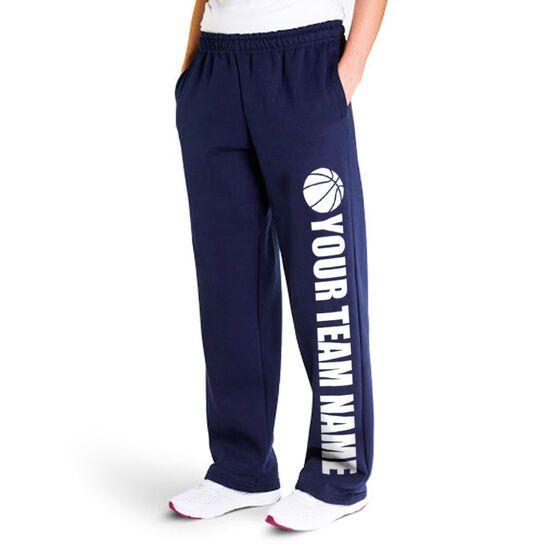 ChalkTalkSPORTS Basketball Lounge Pants Eat Sleep Basketball
