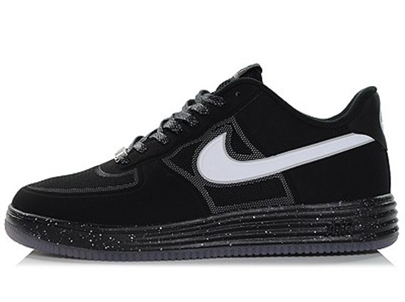 Nike Lunar Force 1 Fuse Black White