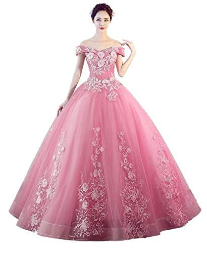 4e8929a8bfb The perfect LEJY Women s Off The Shoulder Quinceanera Dresses Applique  Masquerade Ball Gowns Prom Dresses online.   79.9  topbrandsclothing from  top store