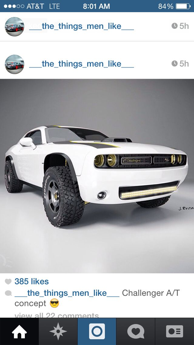 2015 Dodge Challenger A T All Terrain Off Road Muscle Car