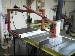 Overarm Dust Collector And Saw Guard