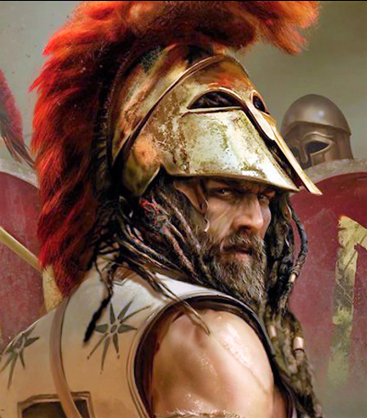 Древний воин-фото картинки