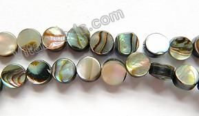 """Abalone - Flat Coins 16"""""""