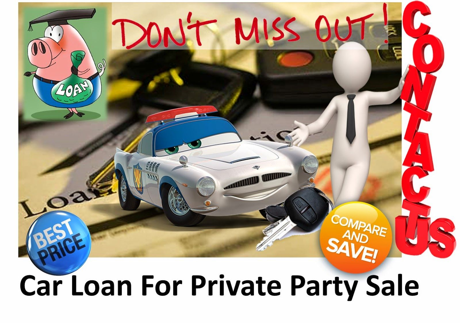 Now Get The Best Private Party Car Financing From Online Lenders