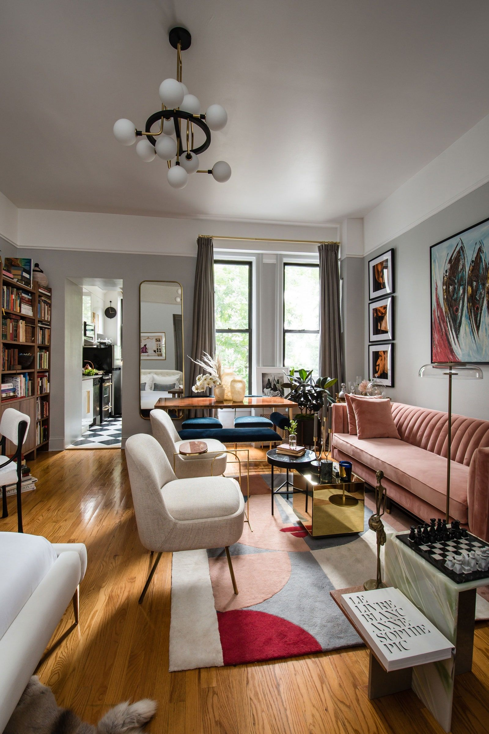 This Creative Consultant Transformed Her Home With A Lot Of Art