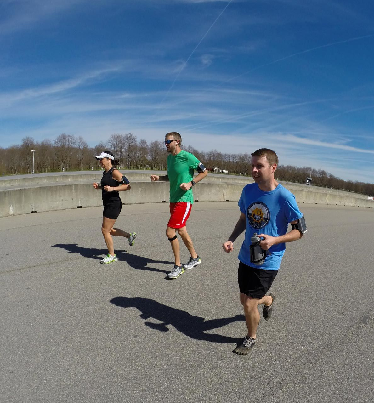 group run at the hutchinson island race track. #gopro | my gopro ...