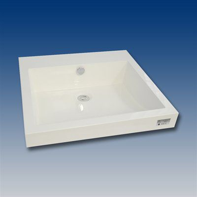 Acri-tec Industries 30012 Pure Basin Vessel Sink *Sinks \u003e Bathroom - Vessel Sinks Bathroom