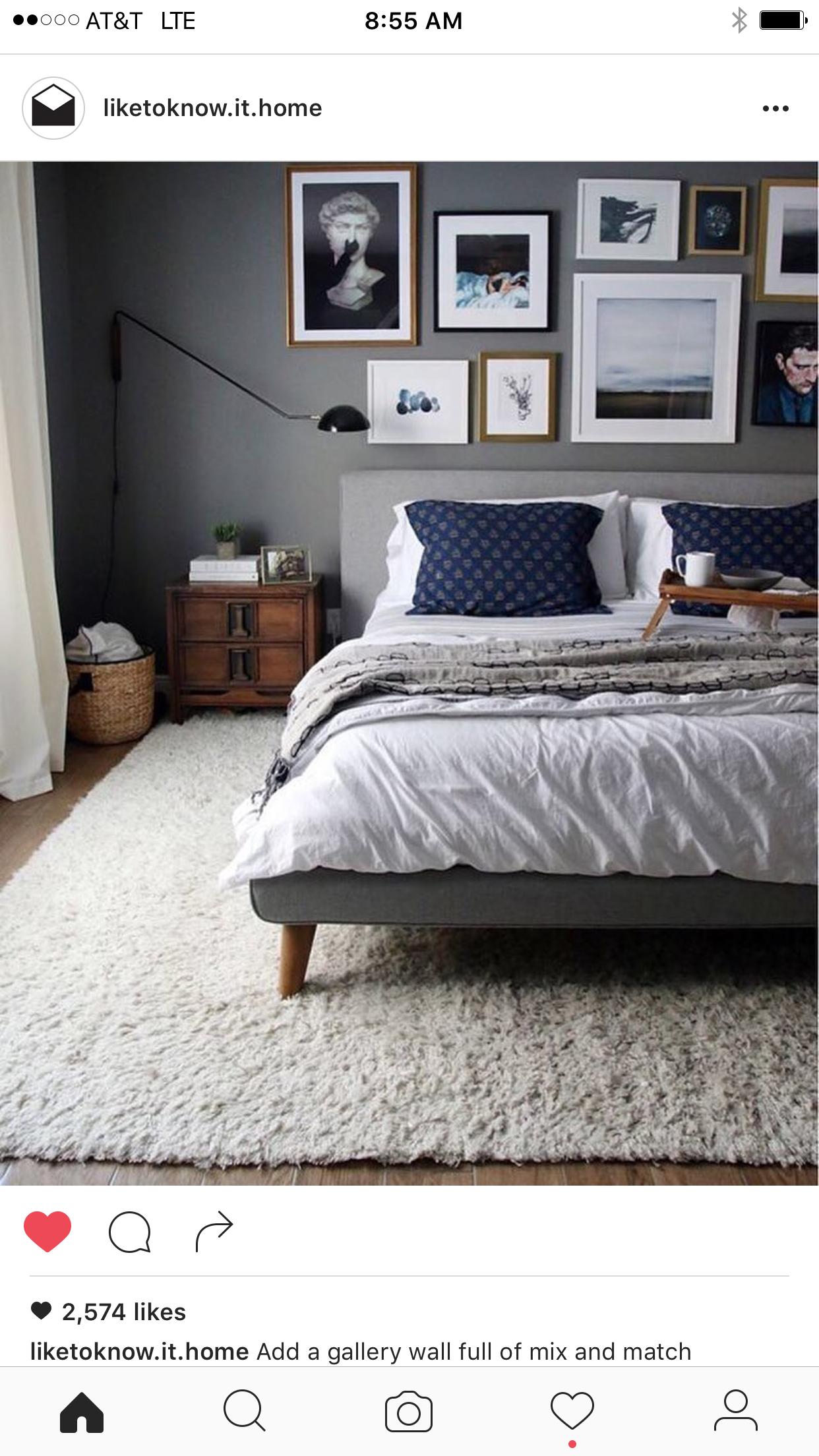 Idee von Anne Lin auf Living room Schlafzimmer design