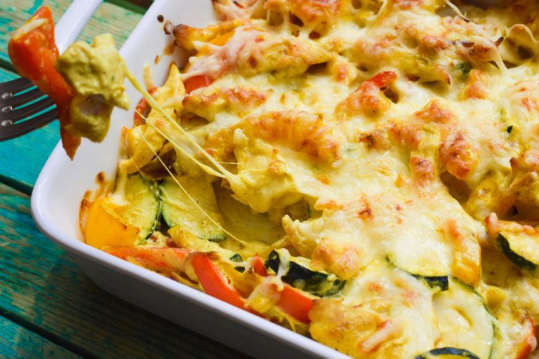 Photo of Curry alarm! – Hearty low carb chicken curry casserole