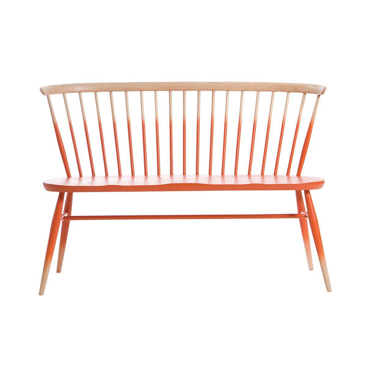 Banc tie and dye / Love Seat - Orange