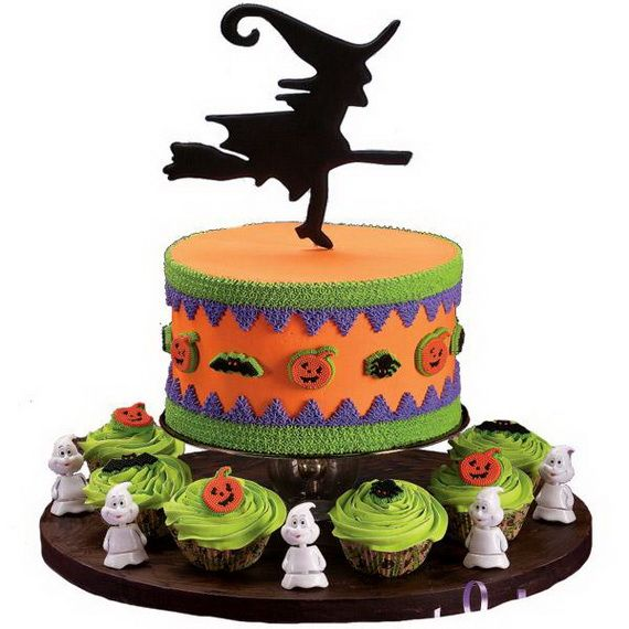 Halloween Inspired Cakes and Decorating Ideas From Wilton My - wilton halloween cupcake decorations