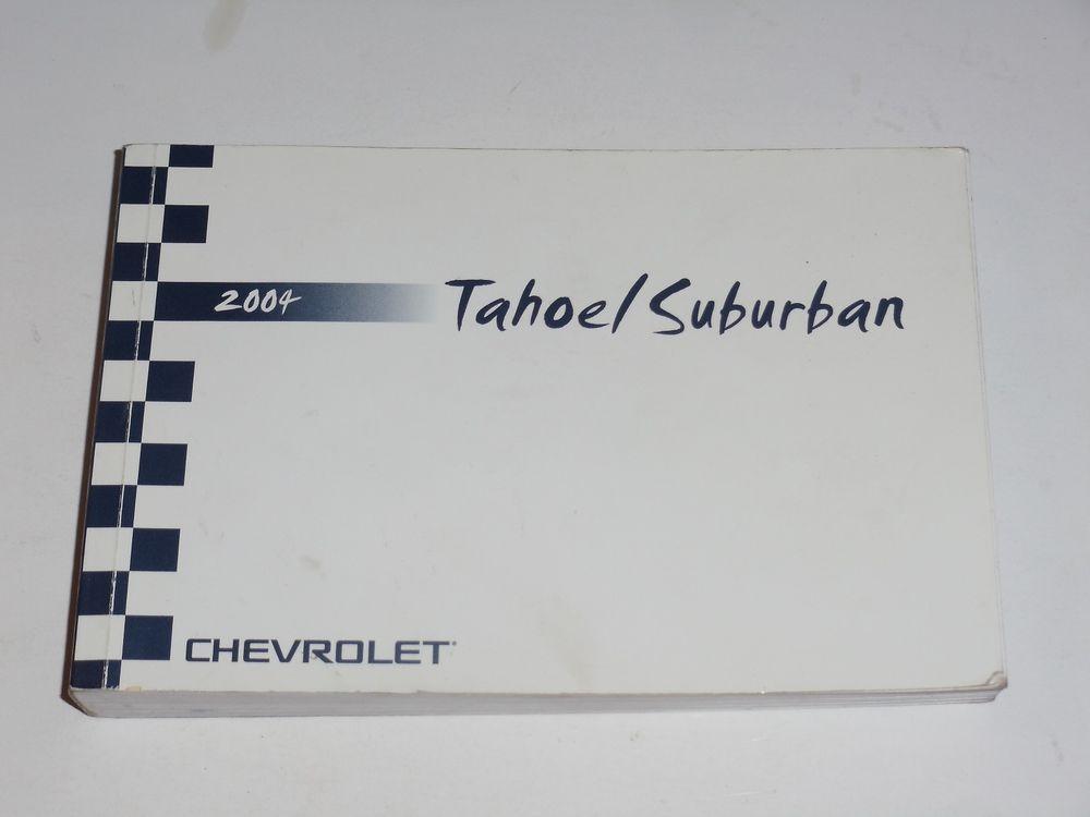 2004 chevrolet tahoe suburban owners manual book owners manuals rh pinterest com 2004 suburban owners manual download pdf 2004 suburban z71 owners manual