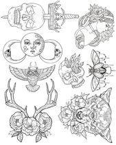 Wendy Ortiz Tattoo Flash  Erstausgabe  Wendy Ortiz Art