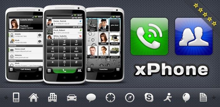 xPhonePro Phone and Contacts v2.5.2 apk Requirements