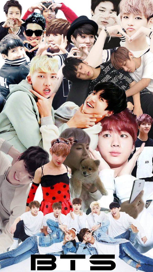 BTS IPhone Wallpaper Collage by WhyChuDoThis BTS