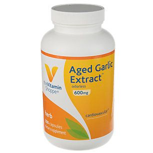 Odorless Aged Garlic Extract 600 Mg 300 Capsules Garlic